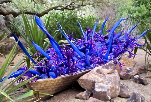 AZ - Purple Blue Boat