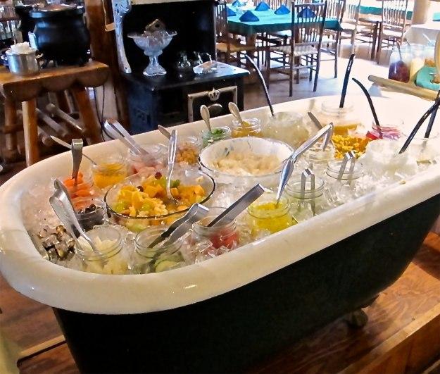 Baldpate Salad Tub