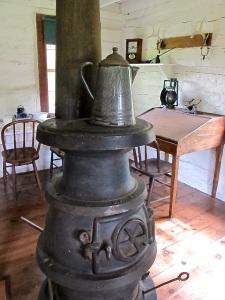 Maltise Cross Cabin - Stove