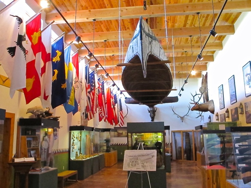 Museum of the Fur Trade - Boat