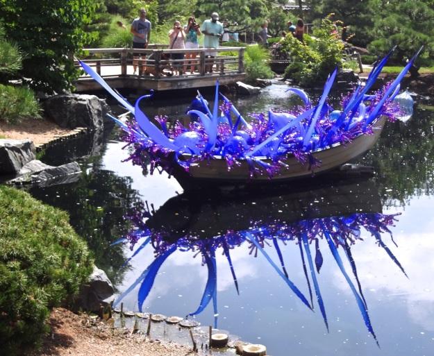 Purple Blue Boat