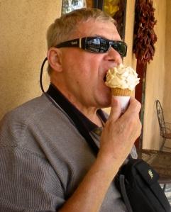 Bob at Taos Cow 2011