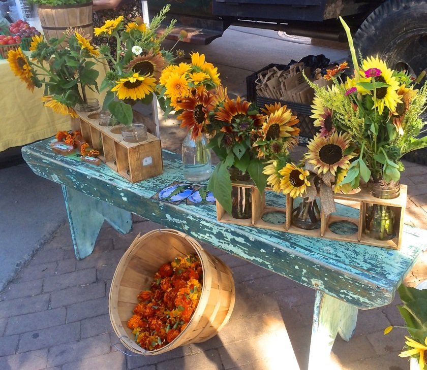Sunflowers - Taos Farmers Market