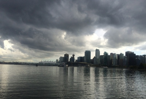 Afternoon Skies Over Vancouver