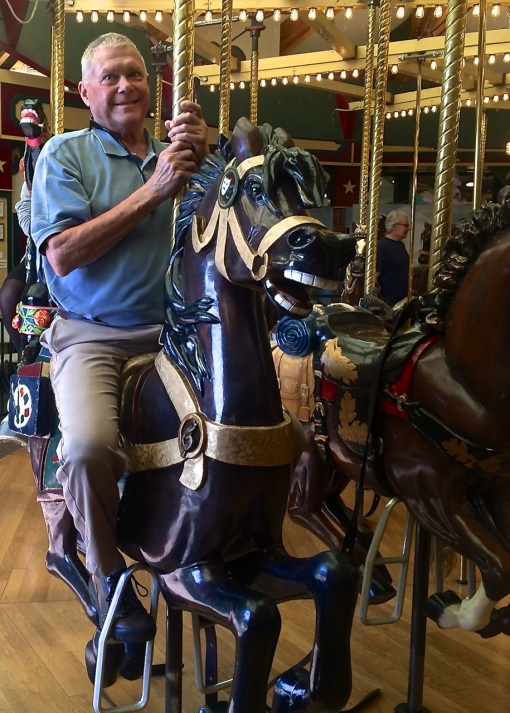 Bob at Missoula Carousel