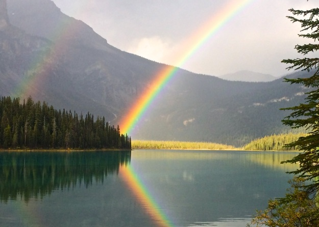 Emerald Lake Rainbow - H