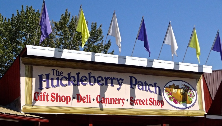 Huckleberry Patch - Sign 2