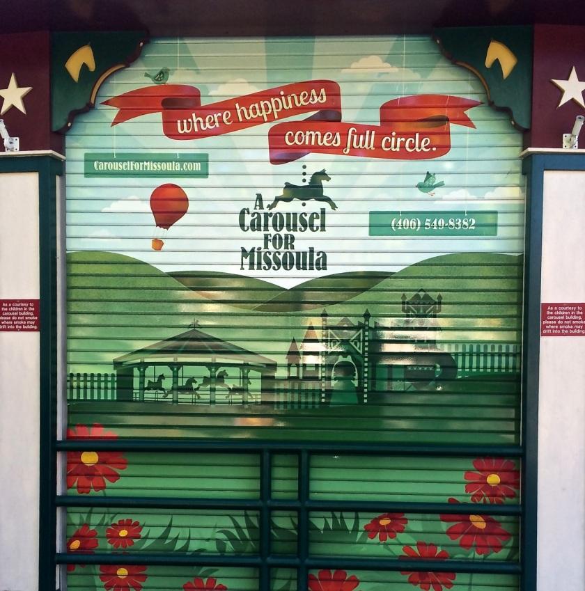 Missoula Carousel Door