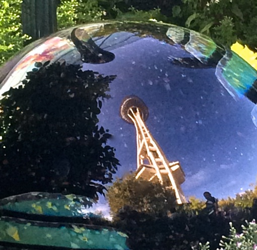 Space Needle Reflection