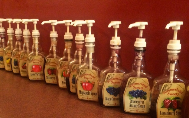 Summerland Sweets Syrups