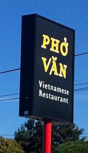 Pho Van Sign