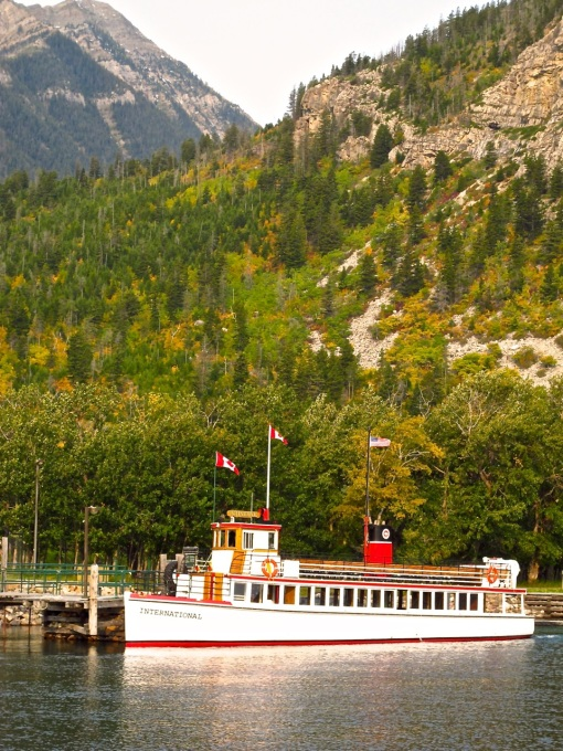 Waterton Boat - Full View