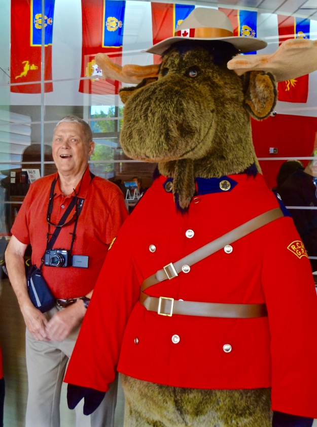 Bob with Mountie Moose