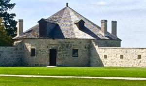 Corner of Lower Fort Garry