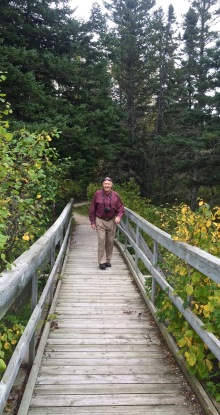 RMNP - Bob on Boardwalk