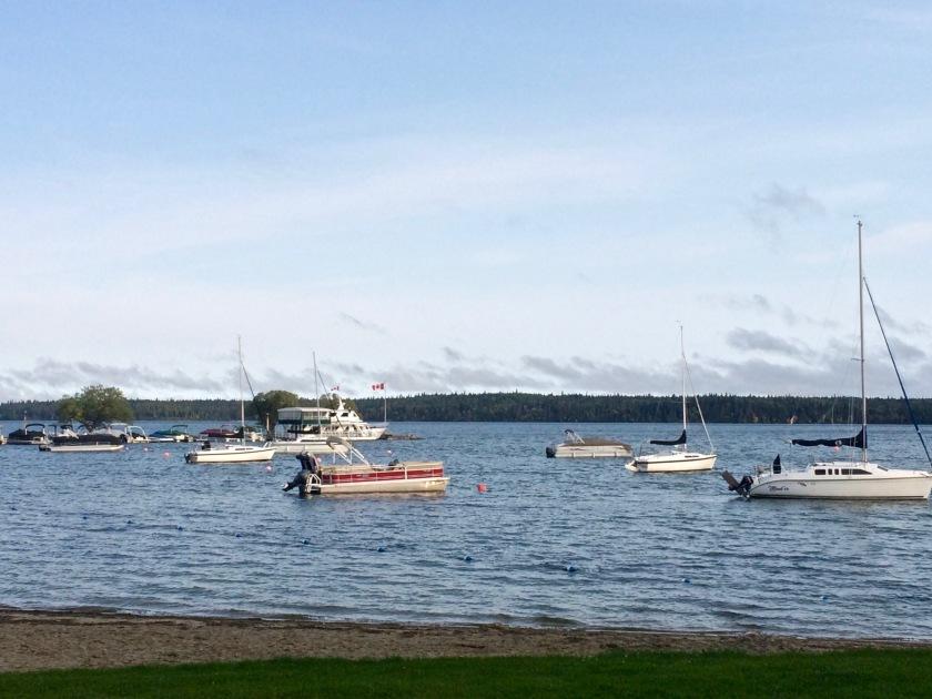 RMNP - Lake with Boats