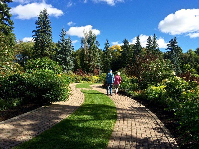 Winnipeg Garden Paths