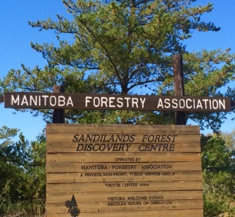 Manitoba Forestry Association Sign