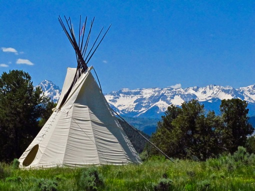 Ridgway State Park Tepee