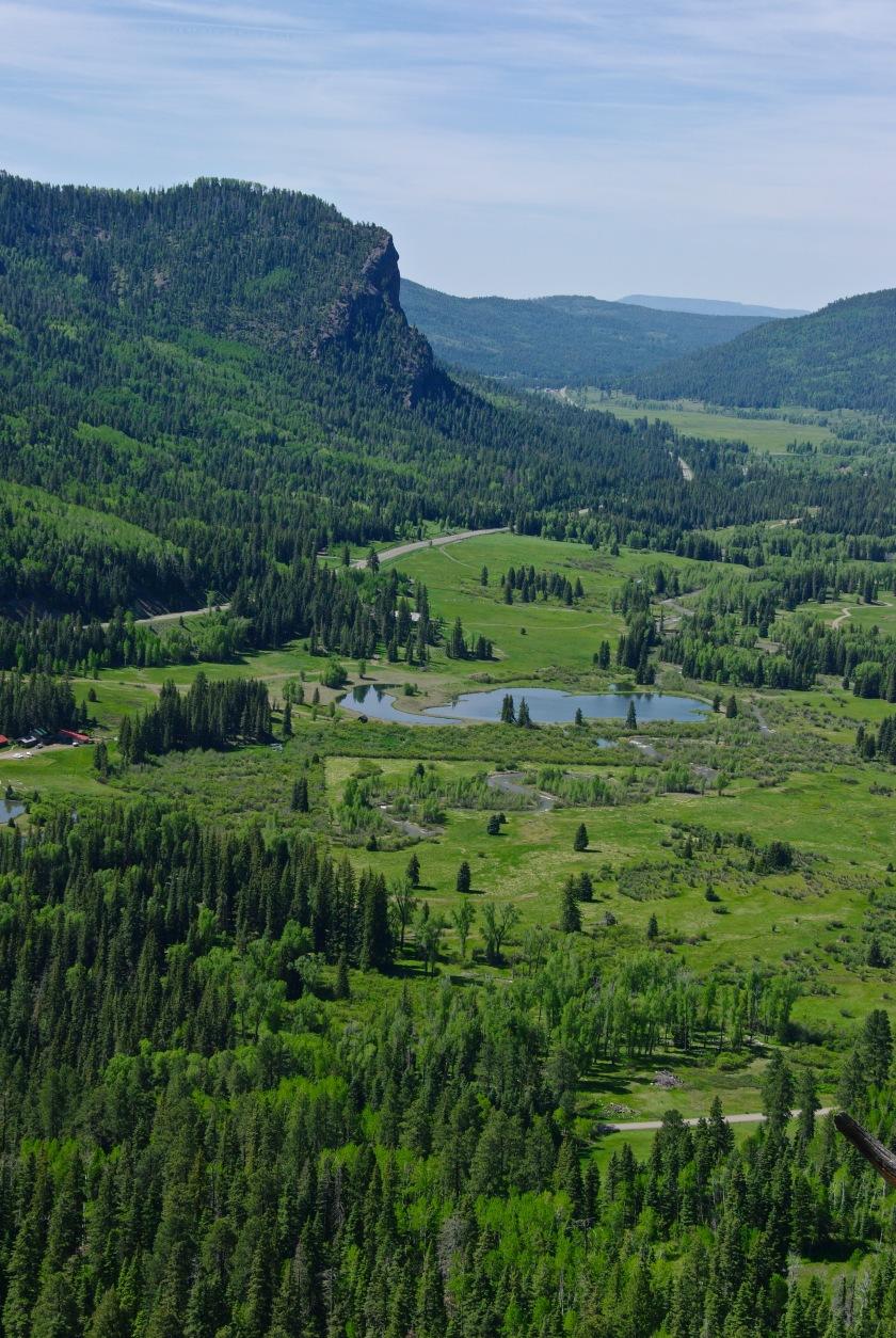 Scene from Wolf Creek Pass